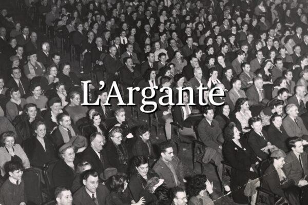 L'Argante #01 L'Argante fra Cinema eTeatro