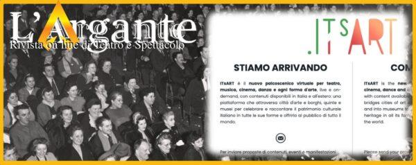 L'Argante #13 ITsArt: La sintesi di quel che resta dell'idea di cultura italiana
