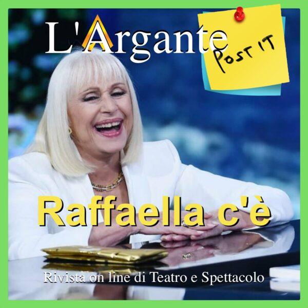 E' viva Raffaella Carrà